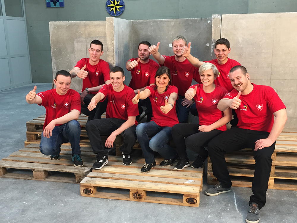 Weekend del Kick-Off EuroSkills 2016 di Göteborg