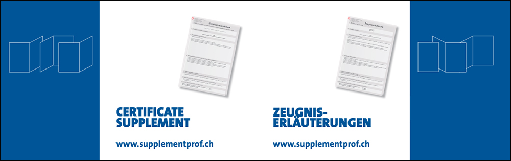 Supplementi al certificato su supplementprof.ch