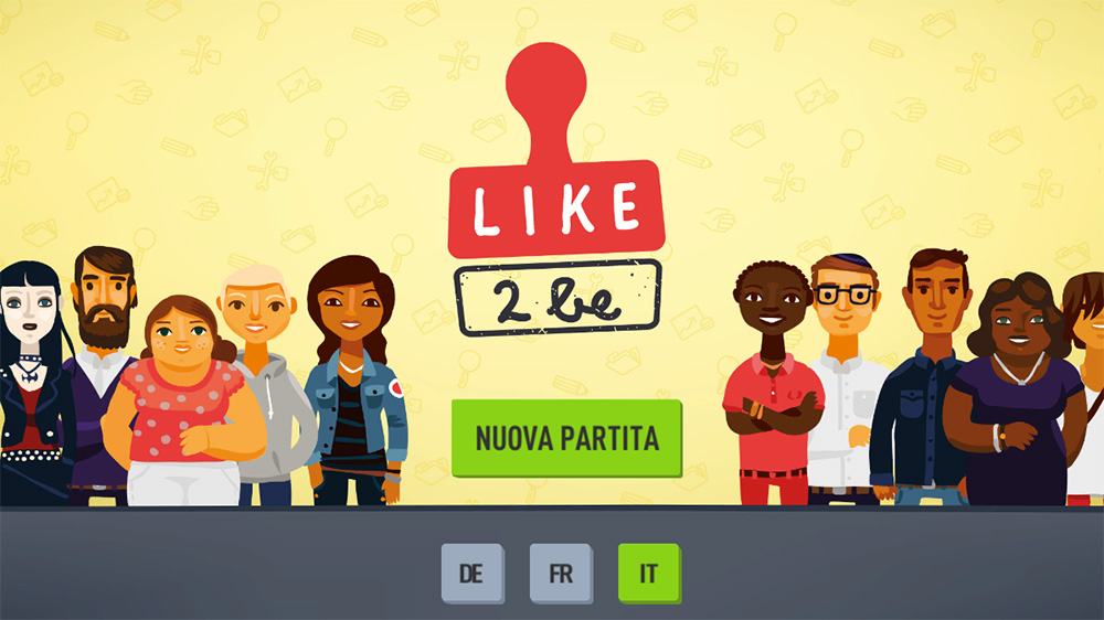 Gioco di apprendimento online «like2be»