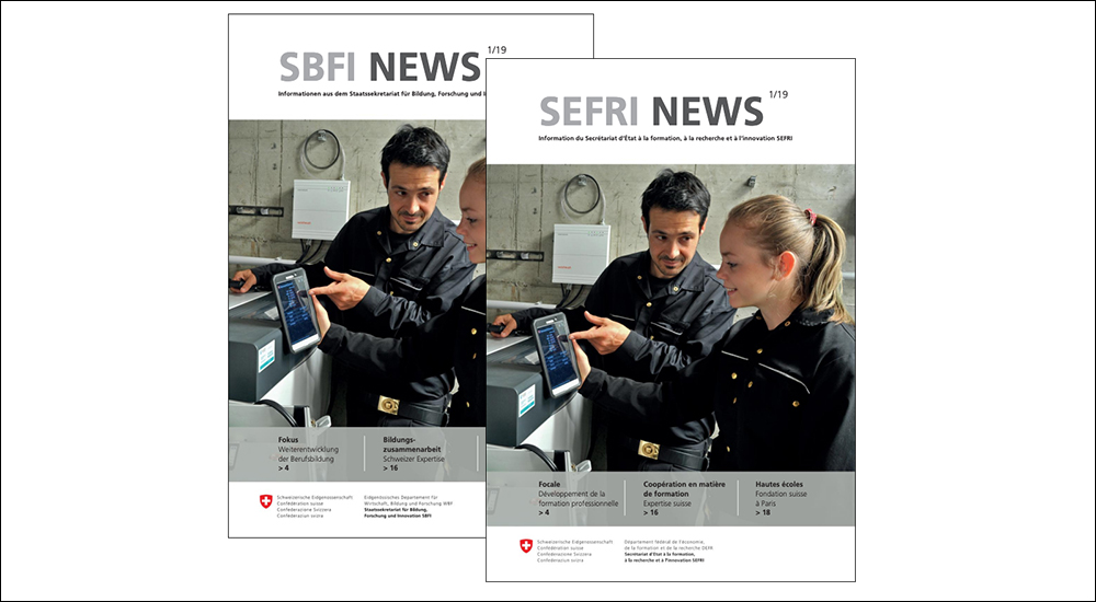 Newsletter «SEFRI Mail»
